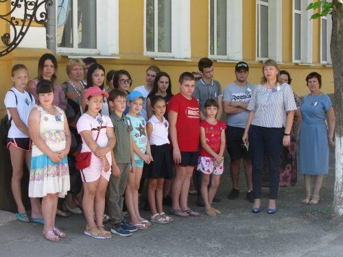 Акция «Не подлежит забвению» прошла в средней школе №2