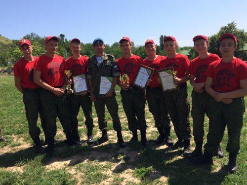 Новочеркасские юнармейцы стали участниками военно-спортивного слета «Военный городок»