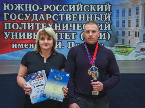 ЛУЧШИЙ СРЕДИ ЮНИОРОВ ВОСТОЧНОЙ ЕВРОПЫ — спортсмен из Новочеркасска