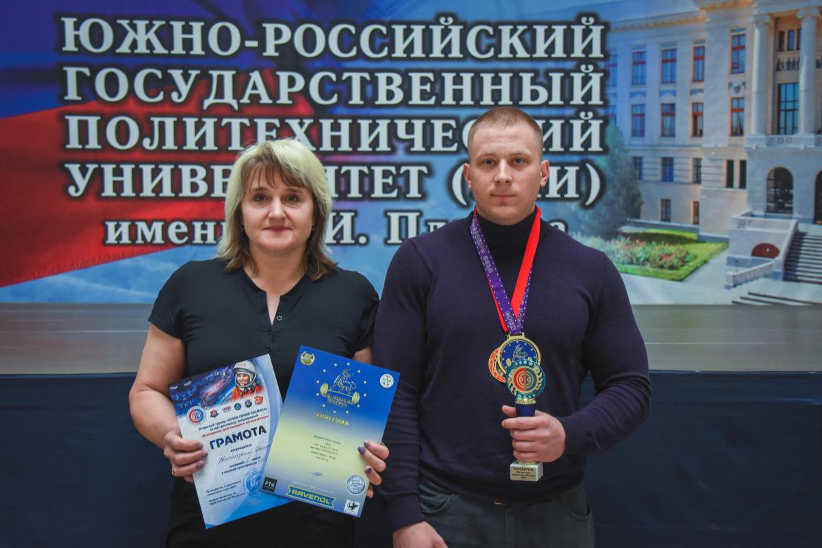 ЛУЧШИЙ СРЕДИ ЮНИОРОВ ВОСТОЧНОЙ ЕВРОПЫ – спортсмен из Новочеркасска