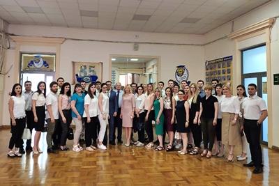 Новочеркасцы приняли участие в заседании областного совета молодых ученых