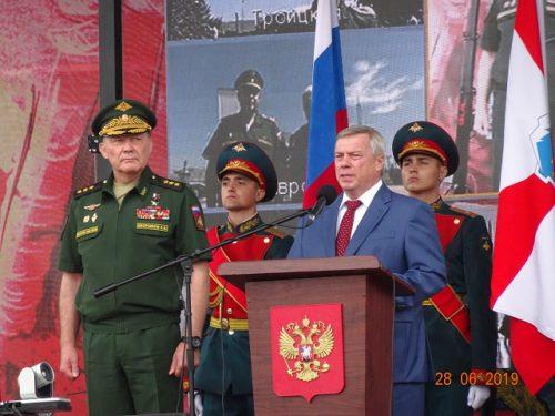 Новочеркасцы побывали на открытии военного форума «Армия-2019» на Самбекских высотах