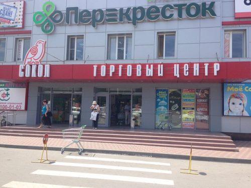 Торговый центр «Сокол» открыл детскую площадку