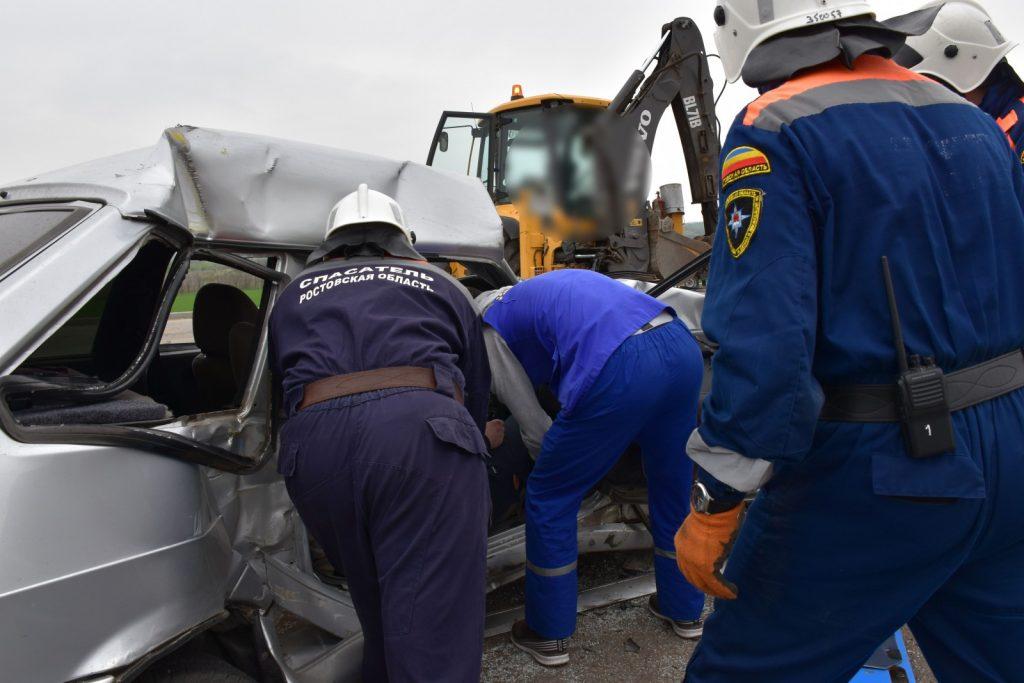Последствия порядка 130 дорожно-транспортных происшествий ликвидировали с начала года специалисты поисково-спасательной службы области
