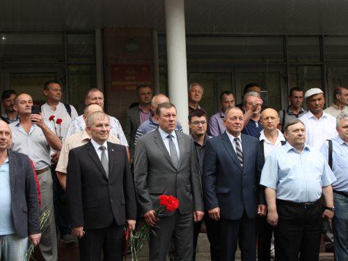 Выпускники Новочеркасского училища связи отметили 30-летие выпуска