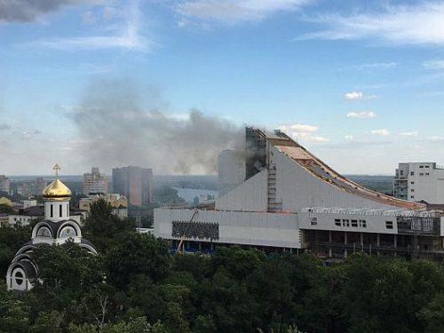 Пожар  в Музыкальном театре  ликвидирован