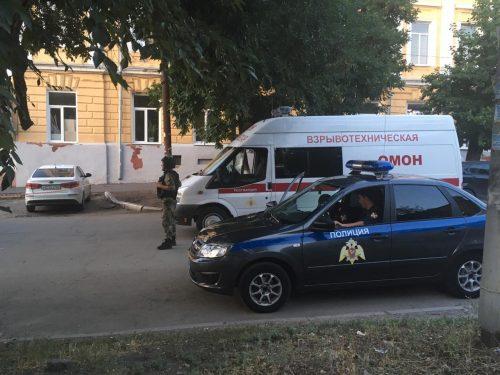 Сообщение о минировании здания росгвардии в Новочеркасске не подтвердилось