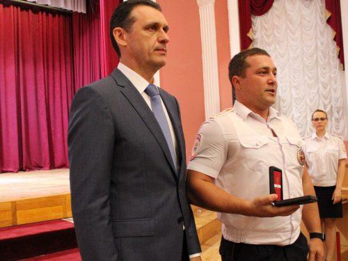 Пять сотрудников Госавтоинспекции донского региона награждены знаком «За ратную службу»
