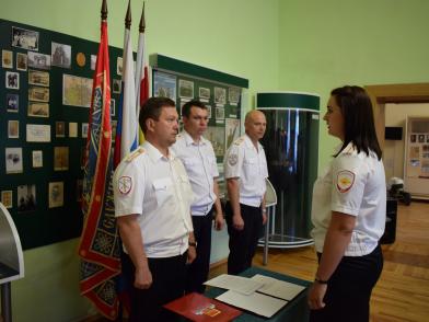 В Новочеркасском суворовском училище прошла присяга новых сотрудников