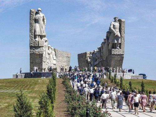 Мемориал героям прорыва Миус-фронта на Самбекских высотах будет отреставрирован