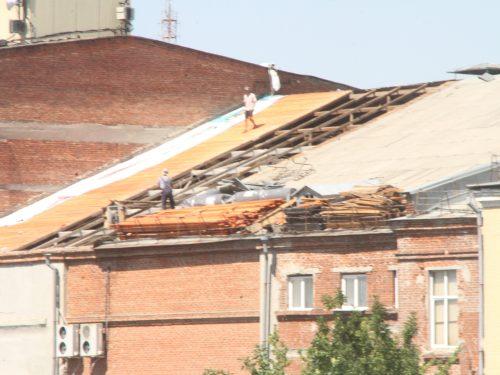 В Год театра в Новочеркасске начался ремонт театра