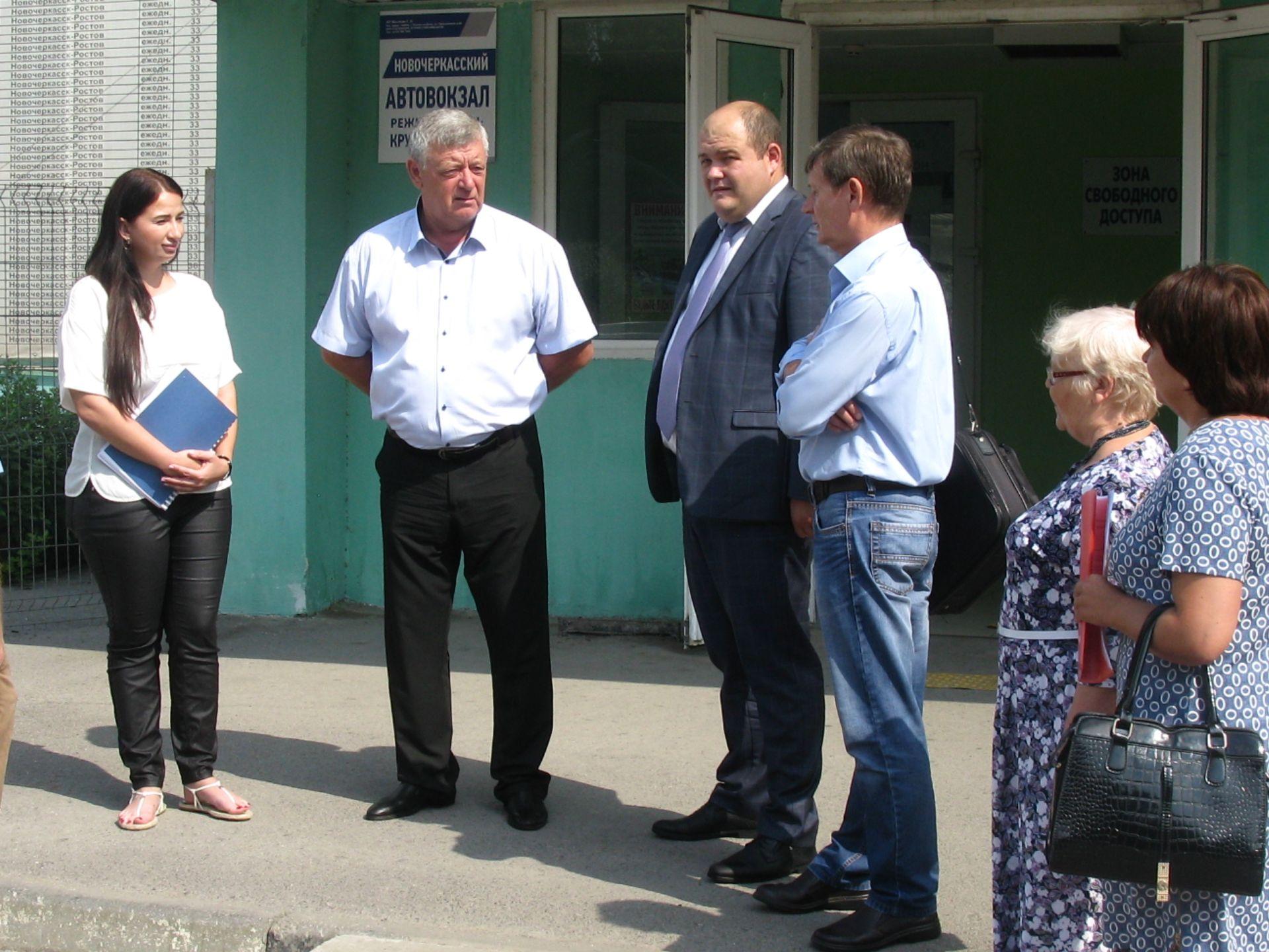 Новочеркасский автовокзал должен стать доступным