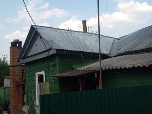 В Новочеркасске произошло возгорание частного дома