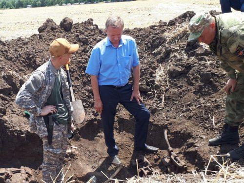 С начала 2019 года поисковики Дона обнаружили останки 325 воинов Красной Армии