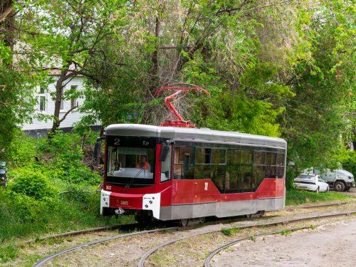 До Покрова будет завершен ремонт трамвайных путей маршрута №2