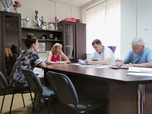 Председатель городской думы-глава города Новочеркасска  провёл приём по личным вопросам в микрорайоне Донском