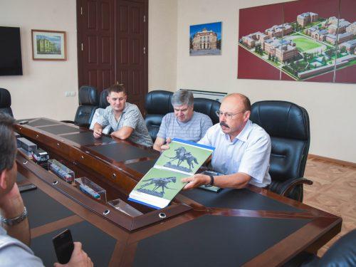 В ЮРГПУ(НПИ) побывал Заслуженный художник Российской Федерации