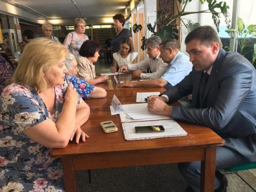 Информационная группа администрации встретилась с жителями Донского