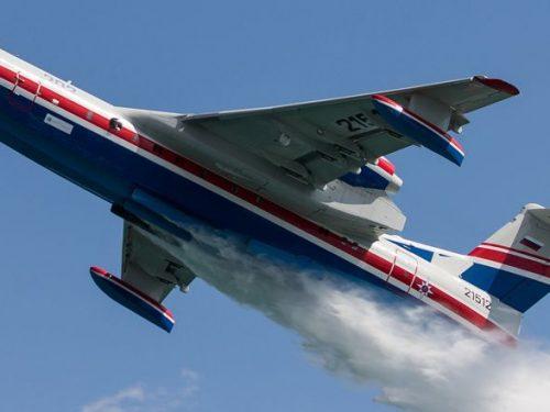 Донской самолет-амфибия в лётной программе международного авиакосмического салона