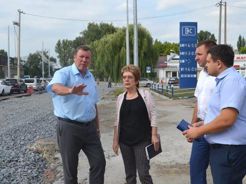 Еженедельный рейд по городу провёл глава администрации Новочеркасска Игорь Зюзин