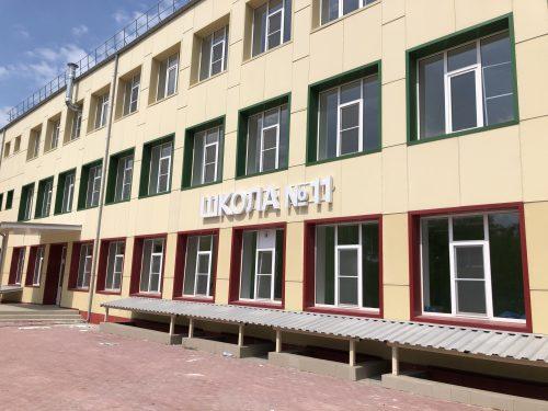 Ремонт школы № 11 под контролем администрации