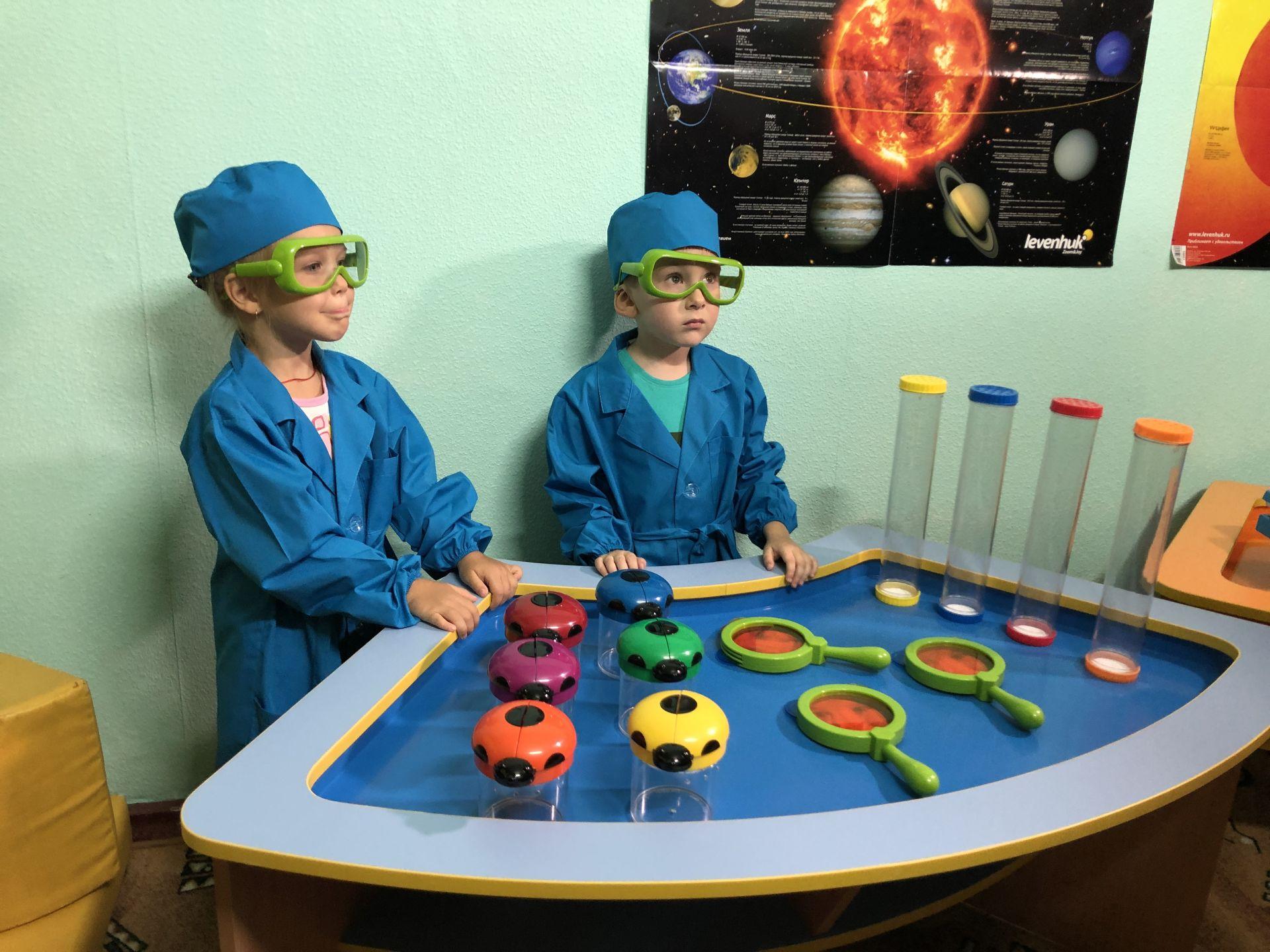 В детсаду № 14 Новочеркасска открыта исследовательская лаборатория