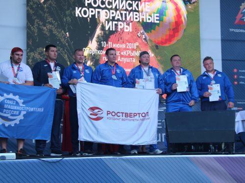 Донские машиностроители стали участниками Спартакиады в Алуште