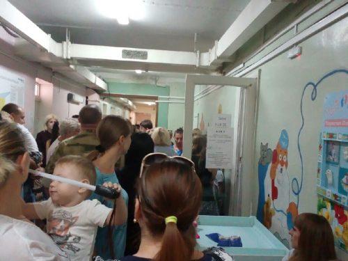 «Наберитесь терпения», — советуют родителям в детской поликлинике Новочеркасска на улице Мичурина, при попытке сдать анализы с третьего-четвертого раза
