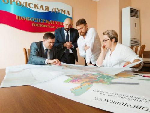 В городской Думе прошло предварительное обсуждение проекта генерального плана