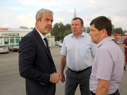 Министр транспорта Ростовской области побывал на улицах Гагарина и Сарматской