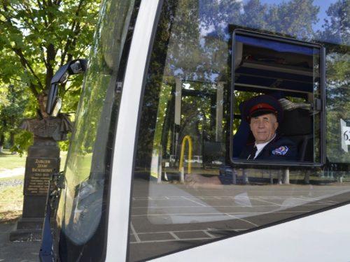 Ключи от нового автобуса