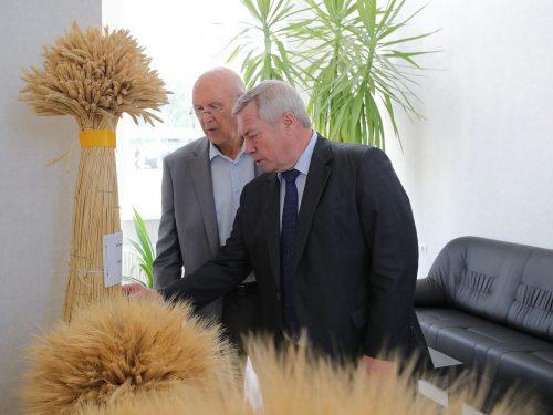 Глава региона поздравил с юбилеем учёного-агрария
