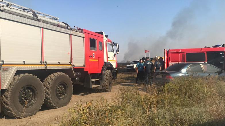 Очередной ландшафтный пожар успешно ликвидирован в Новочеркасске