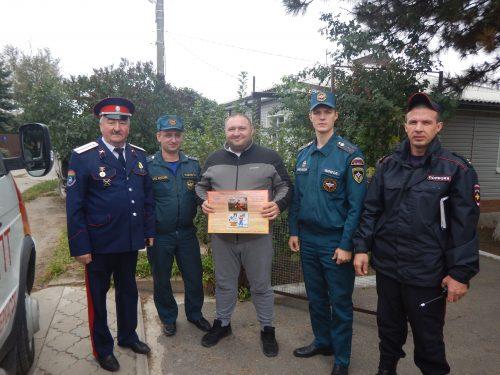 В Суворовском училище проведено пожарно-тактическое занятие по эвакуации и тушению условного пожара