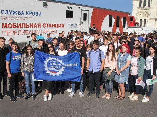 СоюзМаш организовал масштабную донорскую акцию в центре Новочеркасска