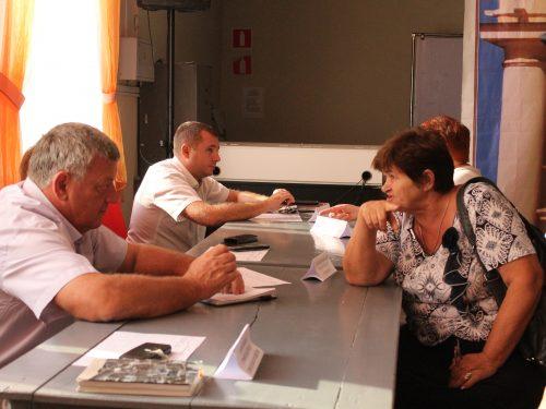 5 сентября сразу две встречи информационных групп прошли для жителей центральной части Новочеркасска