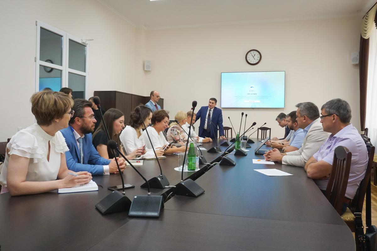 О Южном научно-образовательном центре говорили в первом вузе юга России