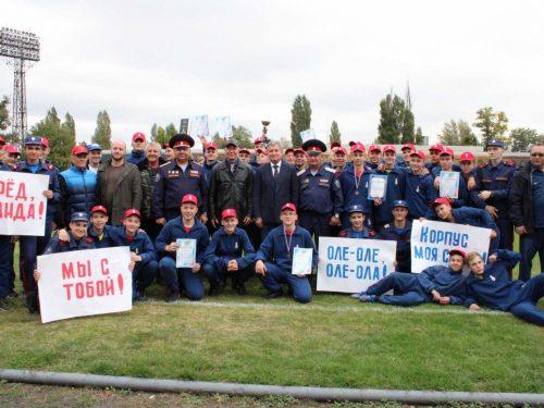 Новочеркасские кадеты стали чемпионами спартакиады среди кадетских корпусов Дона