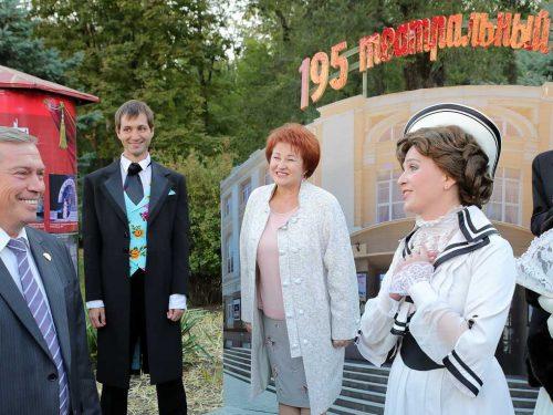 Комиссаржевцы приняли участие в открытии на Дону  Всероссийского театрального марафона