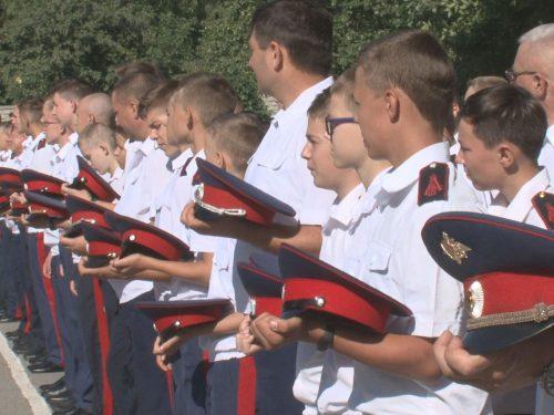 СоюзМаш стал участником открытия нового учебного года в кадетском корпусе