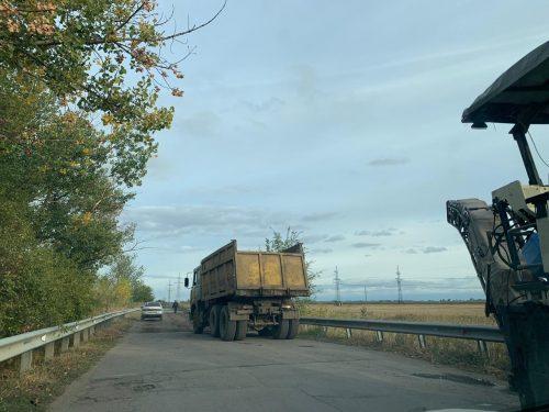 Дорога в Луговой — начат ремонт дороги