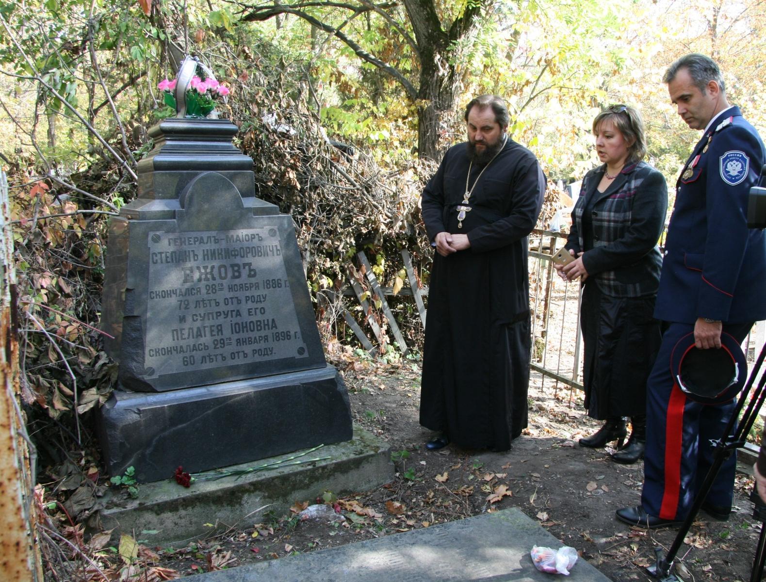 Войсковой священник Всевеликого войска Донского принял участие в экспедиции по захоронениям казаков лейб-гвардии его величества казачьего полка