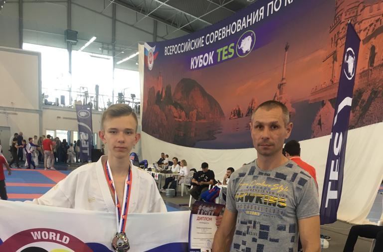 Новочеркасский каратист занял второе место во Всероссийских соревнованиях
