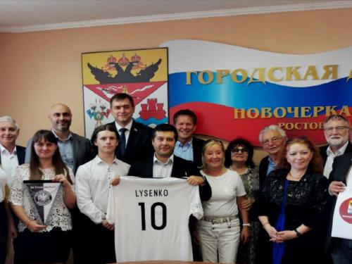 Футбольная команда городской Думы планирует сыграть в Изерлоне