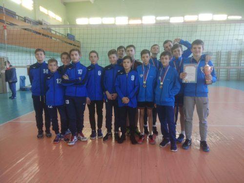 Волейболисты СШОР№1 приняли участие в открытом первенстве Белокалитвенского района