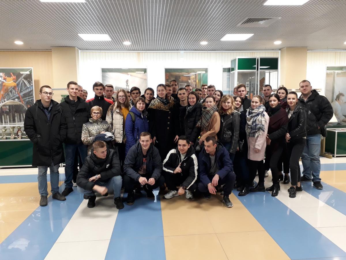 """Новочеркасские студенты посетили Волгодонский филиал АО """"Атоммаш"""""""