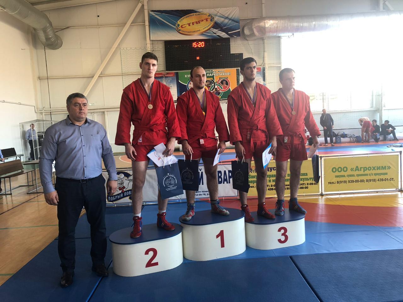 Новочеркасский спортсмен стал призёром турнира в Краснодарском крае