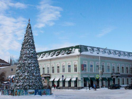 Новогоднюю Ёлку в Новочеркасске ждёт праздничное обновление