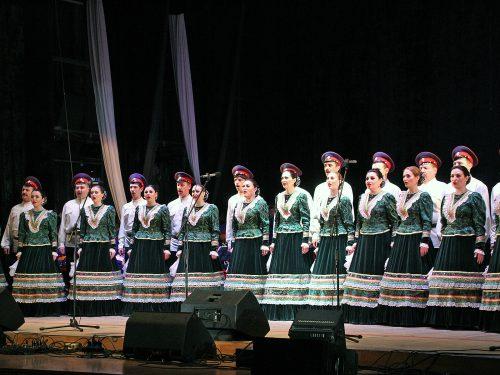 Ансамбль донских казаков  в столице мирового казачества покорил зрителей