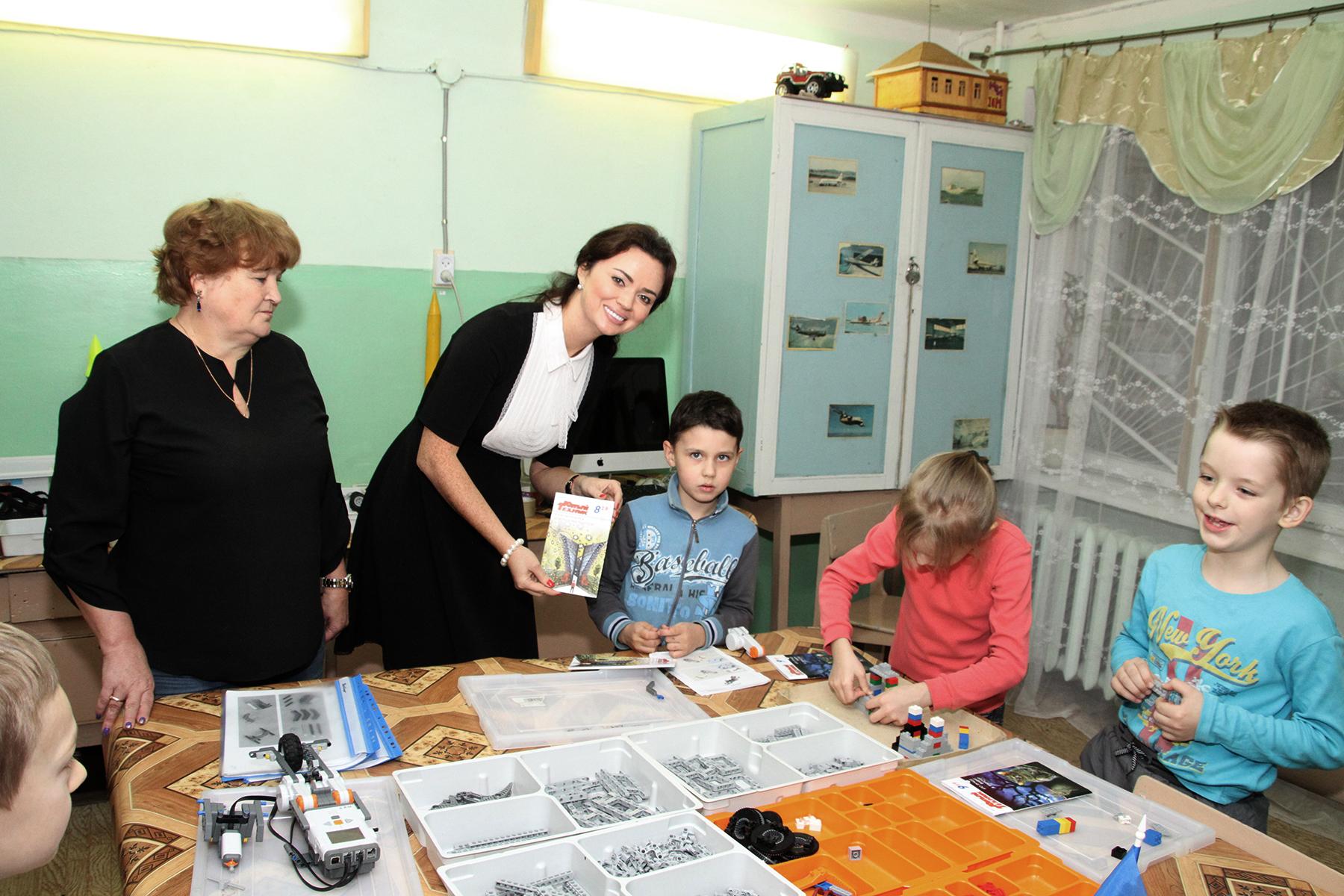 Центр технического творчества № 1 имени В.В. Горбатко подружился с донским Союзмашем